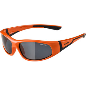 Alpina Flexxy Lunettes Enfant, orange-black